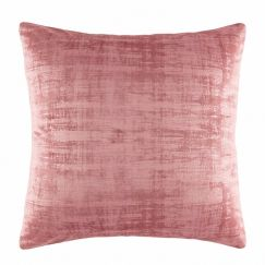 Sylvie Velvet Cushion by Kas Australia | Blush