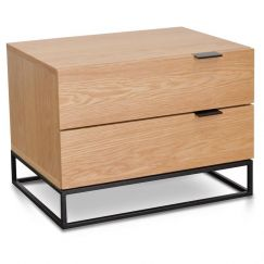 Talia Bedside Table | Natural Oak | Interior Secrets