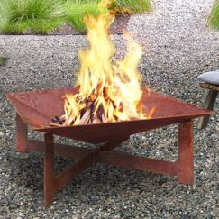 Tanami Large Rust Fire Pit