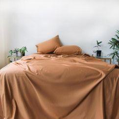 TERRACOTTA 100% Long-Staple Cotton Sheet Set