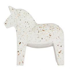 Terrazzo Dala Horse   Seashell   By Zakkia