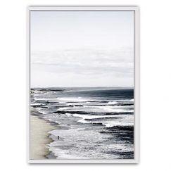 The Back Beach Canvas Print | Framed Canvas Print