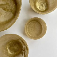 The Gold Collection | Resin Homewares | Small Bowl