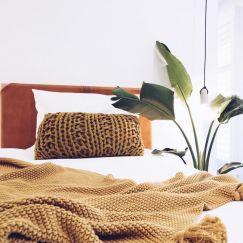 The Leather Bedhead | Single Tan