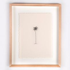 The Single Palm Illustration | Print by Adrianne Design