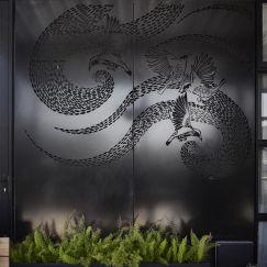 The Wattle Bird Art Screen