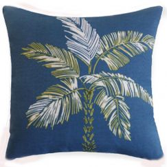Tommy Bahama Palm Cushion Cover | Indoor/Outdoor