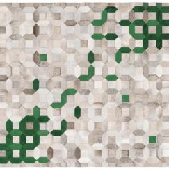 Trellis Rug by Art Hide | Green