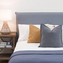 Trigg Bedhead | Capri | Queen or King Size
