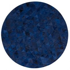 Trilogia Rug Circulo by Art Hide | Blue
