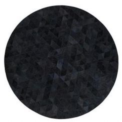 Trilogia Rug Circulo by Art Hide | Charcoal