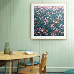 Tulip Fields Limited Edition Print Unframed