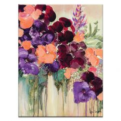 Tumbling Blooms | Nikol Wikman | Canvas or Print by Artist Lane