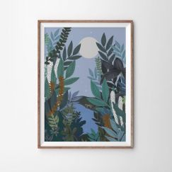 Twilight Forest   Art Print   By Violet Eyes