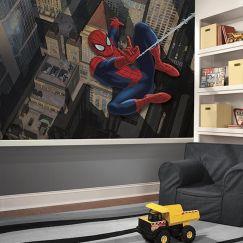 Ultimate Spiderman City Scape | Wallpaper Mural
