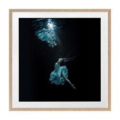Underwater Dancer II | Framed Art Print