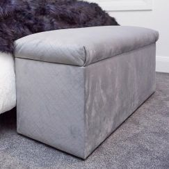 Upholstered Blanket Box | Custom Made by BedsAhead | Various Sizes