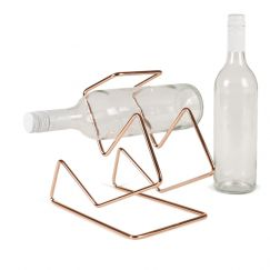 Vino Luxe   Wine Rack   Copper   by Bendo