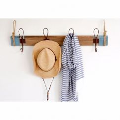 Vintage Beach 4 Hook Rack