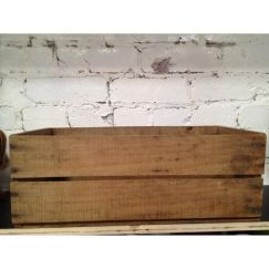 Vintage Timber Fruit Crate