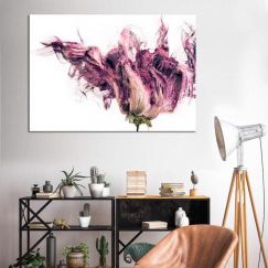 Violetta Bloom | Canvas Print | by United Interiors