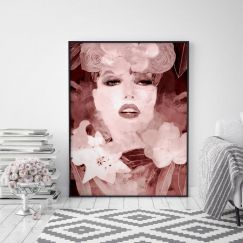 Vogue Series 1   Limited Edition Unframed Print   by Arti Shah