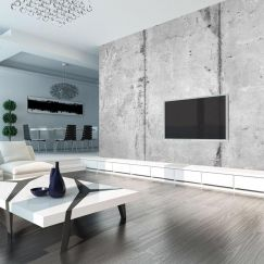 Wallpaper   Distressed Concrete Panels