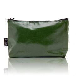 Wash Bag   Various Colours   Moss Green