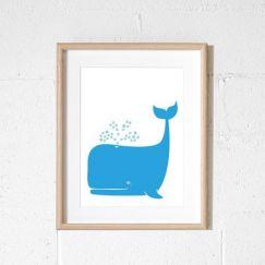 Whale | Print