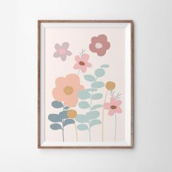 WIldflower Fields   Art Print   By Violet Eyes