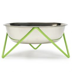 Woof | Pet Bowl | by Bendo | Green