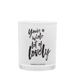 You're Lovely | LRG Candle | by Damselfly