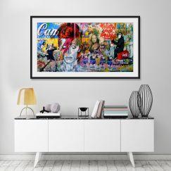 Ziggy Stardust Street Art Mural | Unframed Art Print