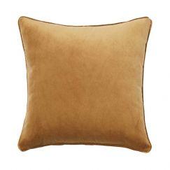 Zoe Velvet Cushion - Brass