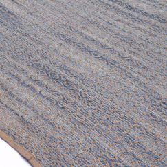 Zola Polo Blue   Handwoven Flat Weave Rug