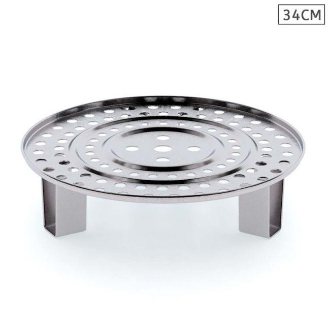 34cm Stainless Steel Steamer Insert