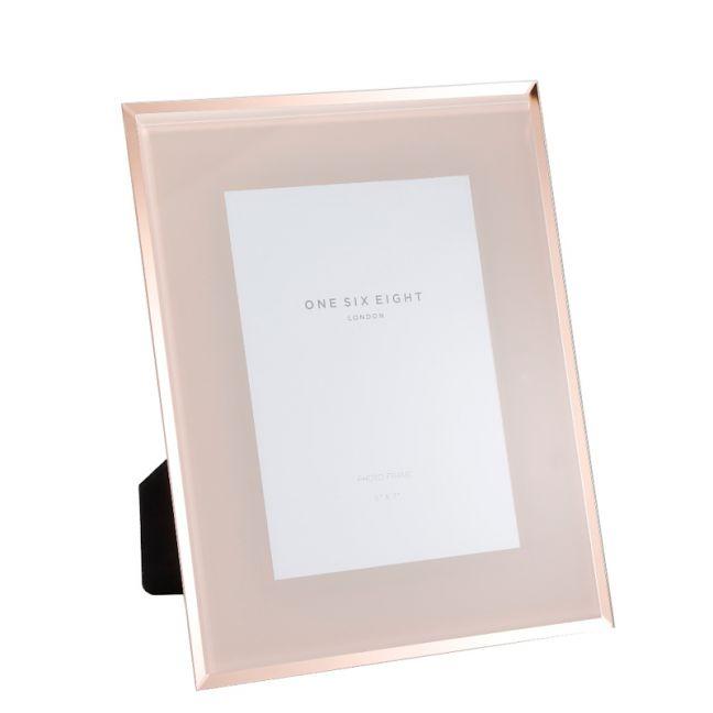 7 x 5 Glass Photo Frame | Blush | One Six Eight London