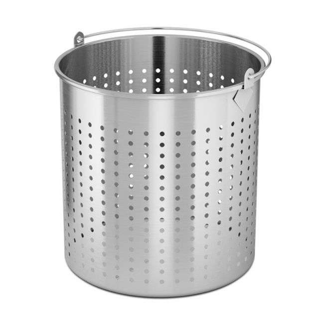 98L 18/10 Stainless Steel Strainer with Handle