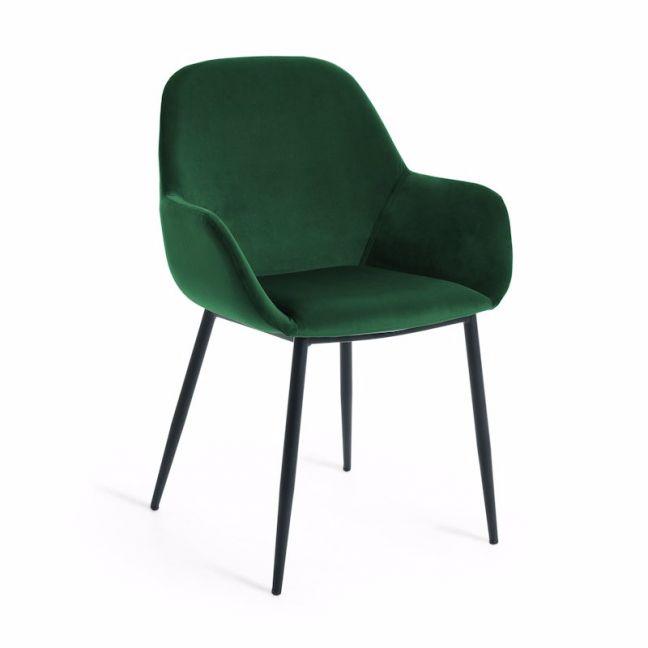 Konna Armchair | Green Velvet