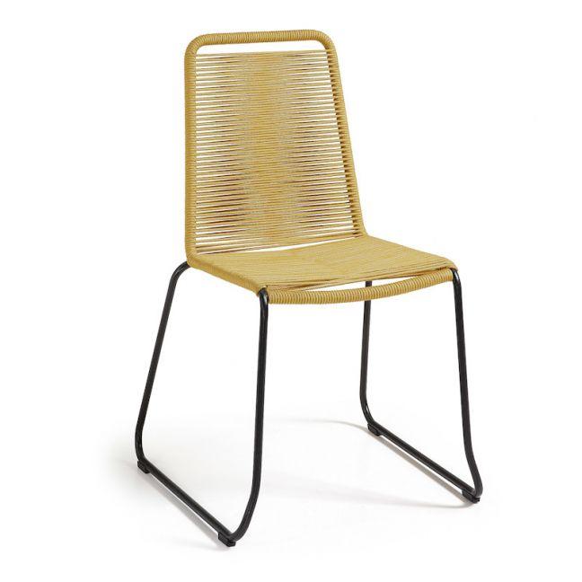 Meagan Alfresco Chair   Mustard Rope