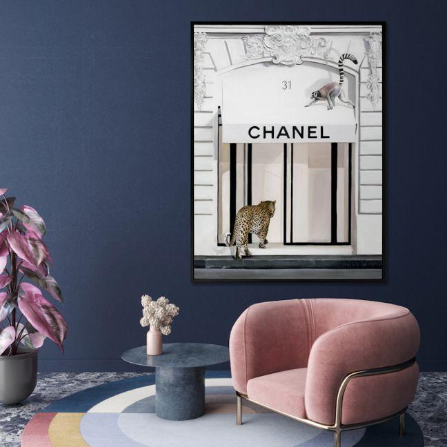 Fashion Week   Canvas Print