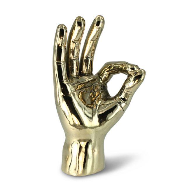 A-OK Gold Hand
