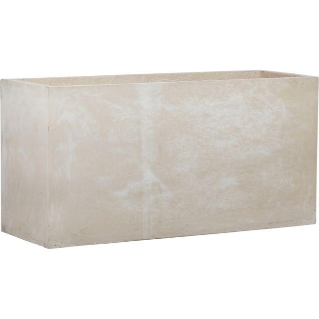 Abasi Concrete Planter 120cm | Milky White | Schots