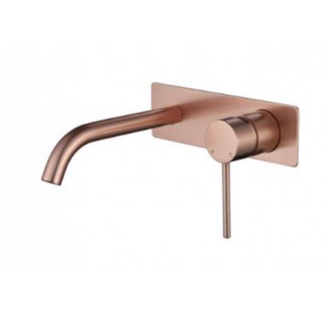 Accent Bath Star Shower Wall Set Mixer | Flemish Copper