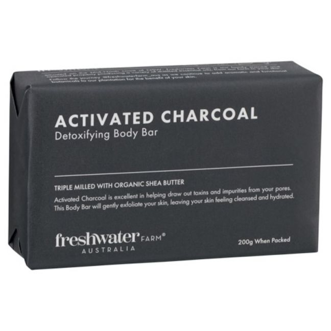 Activated Charcoal Detoxifying Body Bar 200g