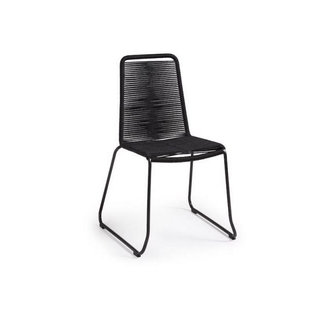 Aga Patio Chair | Black | CLU Living
