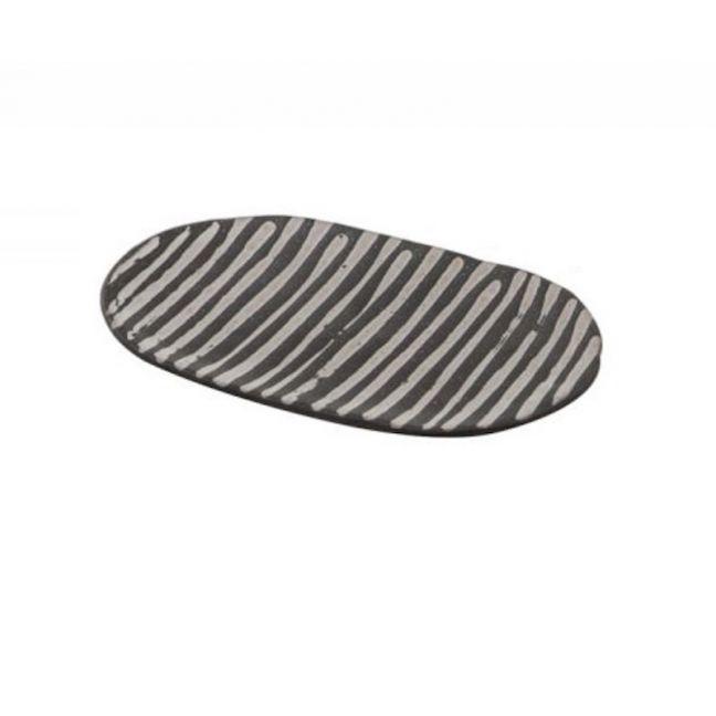 Akono Decorative Plate | Stripes