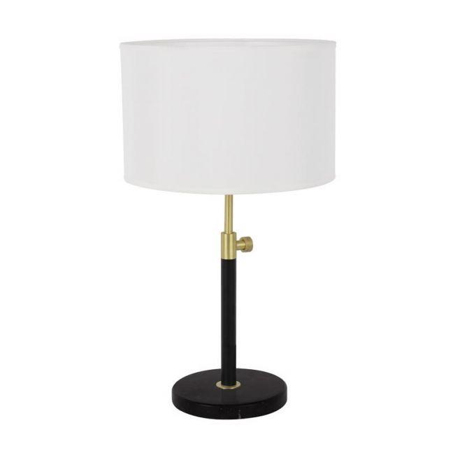Albus 1 Light Table Lamp | Brass/Matte Black | By Beacon Lighting