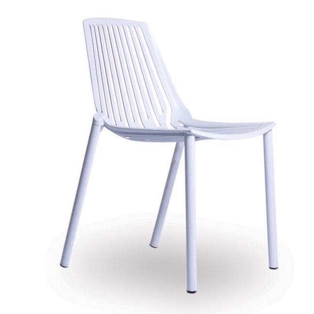 Alby Chair | Aluminium | White