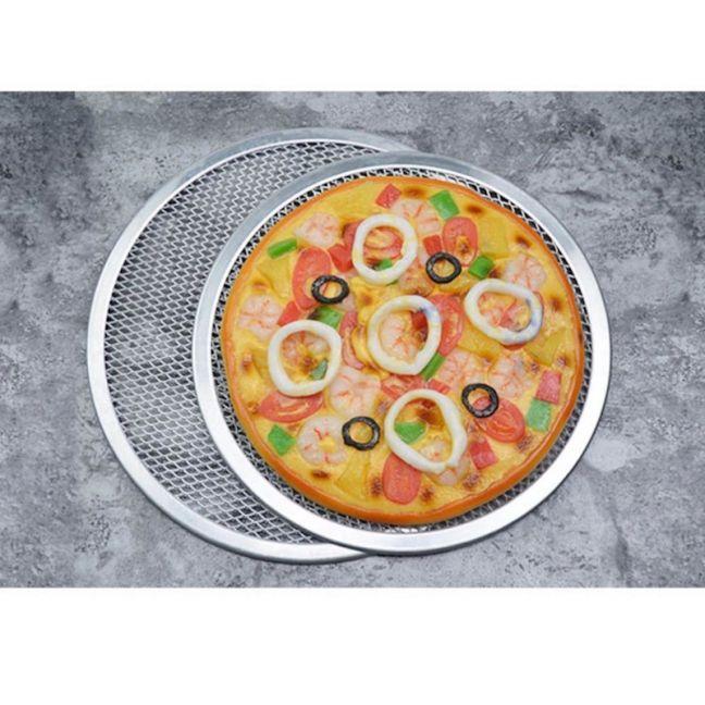 Aluminium Nonstick Commercial Grade Pizza Screen